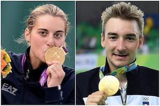 Chi sono i portabandiera dell'Italia alle Olimpiadi 2021 e perché sono due