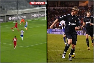 Salah come Guti: l'assist di tacco per Minamino è sublime ma il Liverpool perde con l'Hertha Berlino