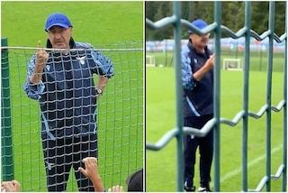 """""""Se sento qualcosa, faccio vuotare"""": Sarri difende il suo giocatore e avvisa i tifosi della Lazio"""