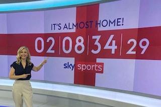 """""""La coppa è quasi a casa"""": in Inghilterra sicuri di vincere gli Europei, countdown in TV"""