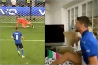 """La commovente esultanza di Spinazzola da casa per l'Italia in finale: """"Grazie ragazzi"""""""