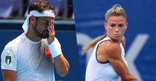Fognini perde con Medvedev, Giorgi eliminata. L'Italia del tennis è fuori dalle Olimpiadi