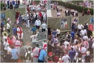 Inghilterra stangata per gli incidenti nella finale contro l'Italia: due gare a porte chiuse