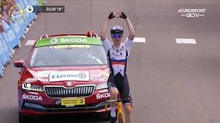 Mohoric vince la tappa più lunga del Tour, Van der Poel e Nibali all'attacco