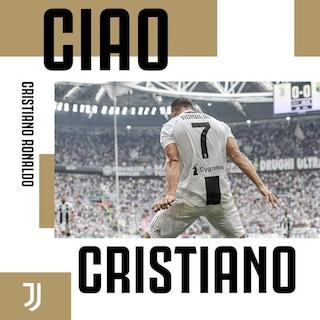 """L'emozionante saluto della Juventus a Cristiano Ronaldo: """"È stata una grande storia"""""""