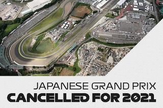 """Cancellato il GP del Giappone di Formula 1 2021 """"a causa della complessa situazione pandemica"""""""