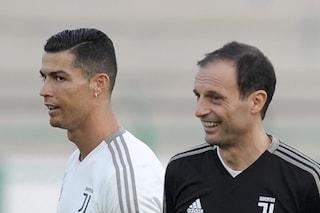 """Allegri chiude il tormentone Ronaldo: """"Mi ha detto che resta alla Juventus"""""""
