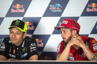 Andrea Dovizioso al posto di Valentino Rossi nella MotoGP 2022: SRT tratta con l'ex Ducati
