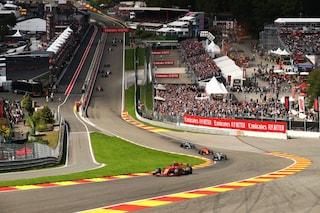 Formula 1 2021, gli orari TV su TV8 e Sky del GP Belgio a Spa