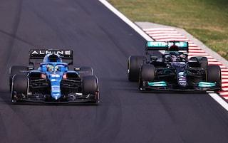 La lezione di difesa di Alonso su Hamilton: decisivo per la vittoria di Ocon in Ungheria