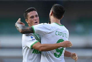 Gol e spettacolo, il Sassuolo batte il Verona nel segno di Raspadori