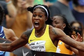 Thompson mostruosa, ad un passo dal mito: 10''54 nei 100, sfiora il record della Griffith