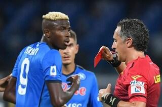 Osimhen squalificato per due giornate: salta Napoli-Juventus
