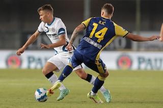 Verona-Inter 1-3 Risultato finale Serie A 2021/2022, gol di Ilic, Lautaro e doppietta per Correa