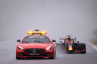 """La surreale protesta Red Bull dopo la gara farsa di Spa: """"Ci manca mezzo punto del giro più veloce"""""""