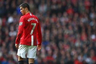 Il numero 7 a Cristiano Ronaldo obbliga la cessione di Cavani: scenario surreale al Manchester