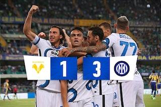Correa show all'esordio con l'Inter: doppietta del Tucu al 'Bentegodi' e Verona ko