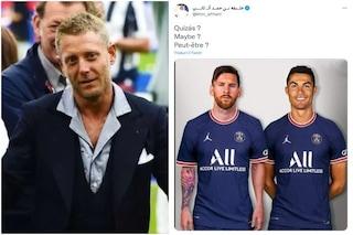 """Ronaldo al PSG con Messi, Lapo Elkann risponde al fratello di Al Thani: """"Irrispettoso"""""""