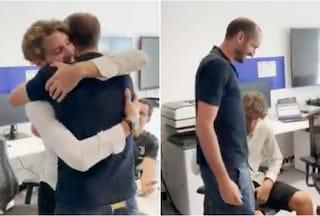 """Locatelli ritrova Chiellini, l'abbraccio e quella frase sussurrata: """"Ma quanto abbiamo sofferto?"""""""