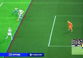 Perché è stato annullato il gol di Ronaldo in Udinese-Juventus?