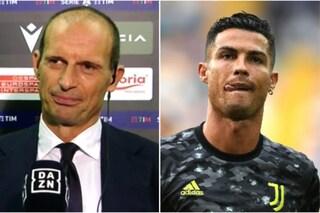 """""""Cristiano vai in panchina"""": così Allegri ha escluso Ronaldo, la ricostruzione del mister"""
