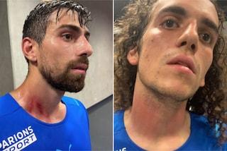 I giocatori del Marsiglia aggrediti dai tifosi a Nizza si rifiutano di riprendere il match