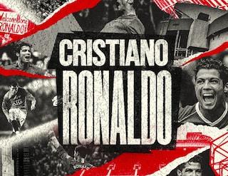 """Cristiano Ronaldo al Manchester United, ora è ufficiale: """"Welcome home"""""""