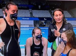 Estasi Italia: la staffetta 4x100 stile libero è d'oro alle Paralimpiadi dopo la squalifica USA