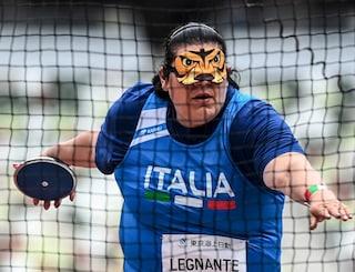 Assunta Legnante da sogno alle Paralimpiadi: argento e record europeo nel lancio del disco