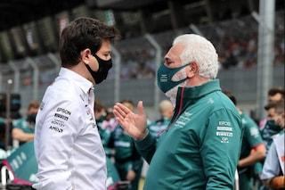 """Wolff indagato, F1 nel caos: """"Insider trading nell'acquisto di azioni Aston Martin da Stroll"""""""