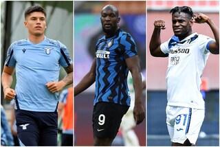 Correa e Zapata per sostituire Lukaku: il piano dell'Inter con l'aiuto di Chelsea e Atalanta