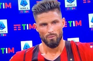 """Giroud e la maledizione della numero 9 nel Milan: """"Non sono superstizioso, penso solo a segnare"""""""