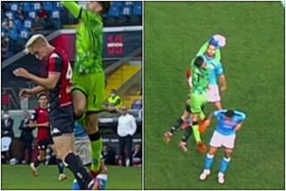 """""""I giocatori del Napoli ridevano sul gol annullato a Pandev"""", ma il fallo c'era: il regolamento"""