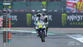 Tripletta italiana in Moto 3 a Silverstone: Fenati, Antonelli e Foggia sul podio al GP Gran Bretagna
