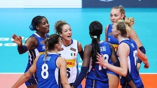 L'Italia batte la Bielorussia 3-0 all'esordio degli Europei 2021: azzurre travolgenti a Zara