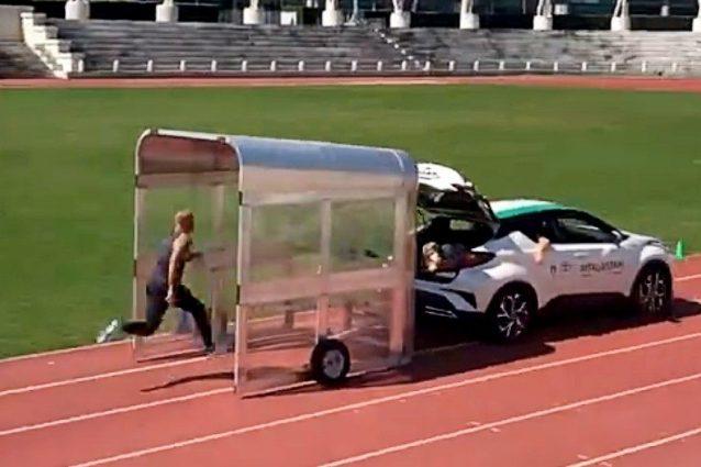 L'allenamento ossessivo di Jacobs all'inseguimento di un'auto: l'idea è geniale