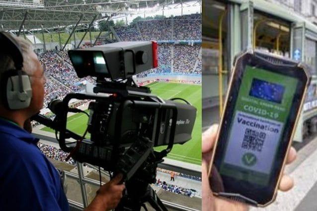 L'operatore tv è senza green pass e la partita di Coppa Italia di Lega Pro non viene trasmessa