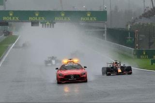 La grande truffa del GP del Belgio: partenza farsa e punti assegnati in una gara mai corsa