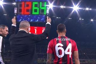 Il debutto di Pellegri con il Milan: ritorna in campo in Serie A dopo tre anni e troppi infortuni