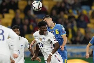 Qualificazioni Mondiali Qatar 2022: la Francia si ferma in Ucraina, l'Olanda cala il poker