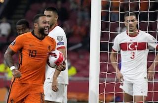 Qualificazioni Mondiali, volano a suon di gol Olanda, Norvegia e Danimarca