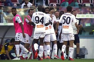 Rimonta super del Genoa: da 2-0 a 2-3 sul Cagliari. Poker del Torino, colpaccio Udinese
