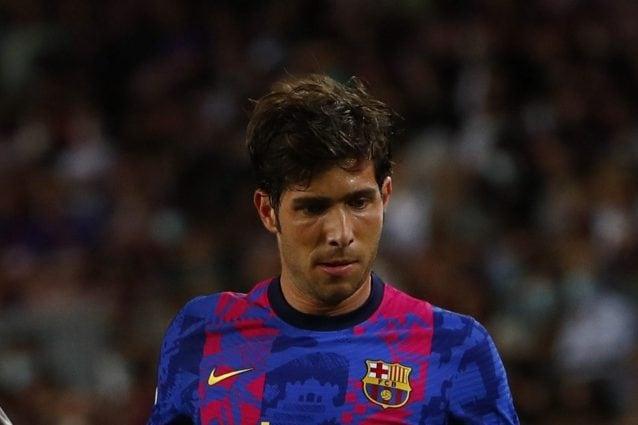 Barcellona umiliato, Sergi Roberto crolla in spogliatoio: Piqué e Busquets accorrono