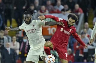 Il Milan è scampato ad una goleada: nei primi 20' a Liverpool un massacro tecnico