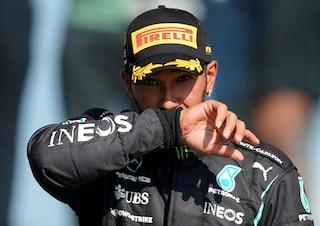"""Hamilton, 100 vittorie in F1 e un cruccio: """"Non saprò mai perché non sono andato in Ferrari"""""""