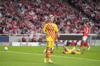 Il Barcellona in Champions è un ricordo: perde 3-0 anche col Benfica, è ultimo nel girone