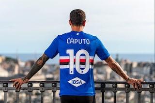 La scelta romantica di Caputo: maglia numero 10 alla Samp per un motivo speciale