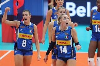 Italia-Serbia finale Europei di volley femminile: dove vederla in diretta TV oggi, orario e streaming