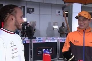 """Il fuori onda tra Norris e Hamilton, si svelano strategie e team radio: """"Ho ignorato tutto"""""""
