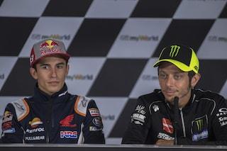 """Valentino Rossi non dimentica: """"Marquez? Ci rivediamo tra 20 anni"""""""